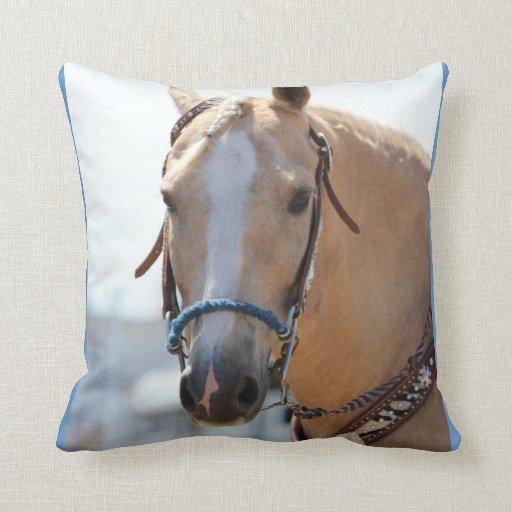 Palomino Pic Throw Pillows