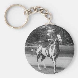 Palomino Pony, 1915 Llavero Redondo Tipo Pin