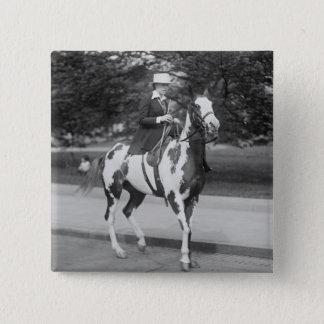 Palomino Pony, 1915 Pinback Button