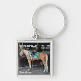 Palomino Pony at Belmont Park Key Chains