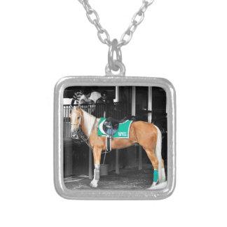 Palomino Pony at Belmont Park Necklaces