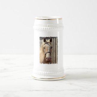 Palomino Pony Beer Stein 18 Oz Beer Stein