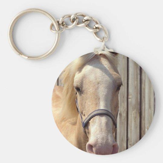 Palomino Pony Keychain