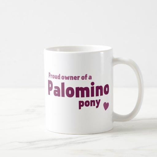 Palomino pony mugs