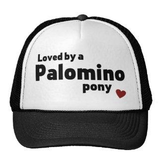 Palomino pony trucker hat