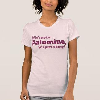 Palomino pony tee shirt