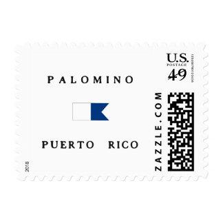 Palomino Puerto Rico Alpha Dive Flag Stamp