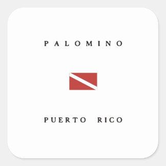 Palomino Puerto Rico Scuba Dive Flag Stickers