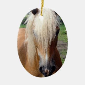 Palomino Quaterhorse Ornament
