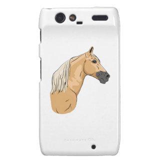 Palomino Tennessee Walking Horse 3 Motorola Droid RAZR Covers