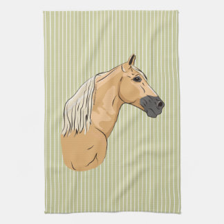 Palomino Tennessee Walking Horse 3 Kitchen Towel