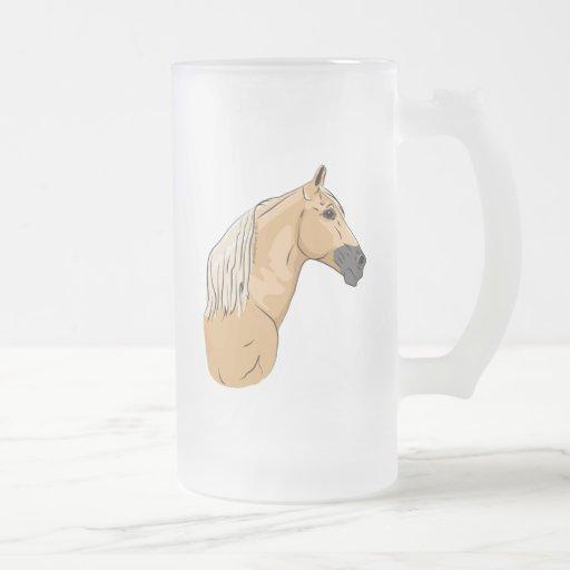 Palomino Tennessee Walking Horse 3 Mugs