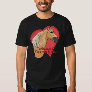 Palomino Tennessee Walking Horse Heart Tshirts