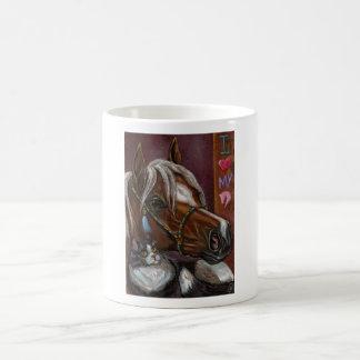 PALOMINO TUXEDO CAT Mug