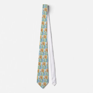 Palomino Unicorn Sea Horse Fantasy Art Tie