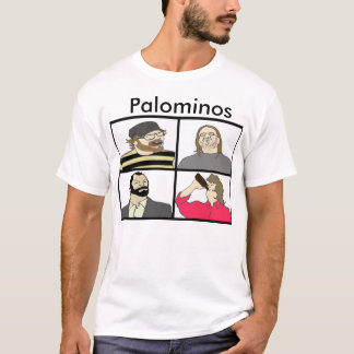 Palominos Faces Mens T-shirt