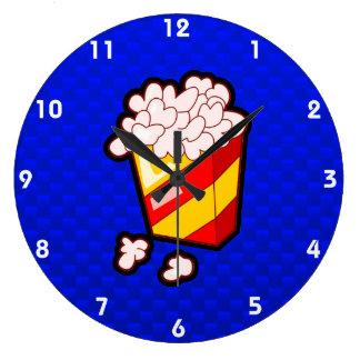 Palomitas azules relojes