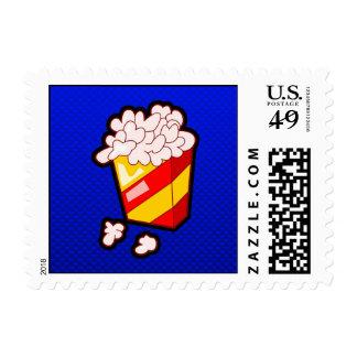 Palomitas azules sellos