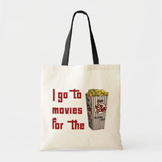 Palomitas de la película bolsa tela barata