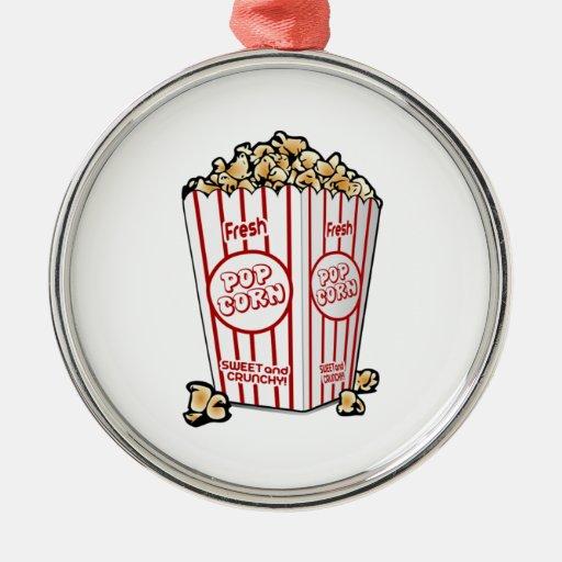 Palomitas de la película ornaments para arbol de navidad