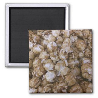 Palomitas de maíz del caramelo imanes de nevera