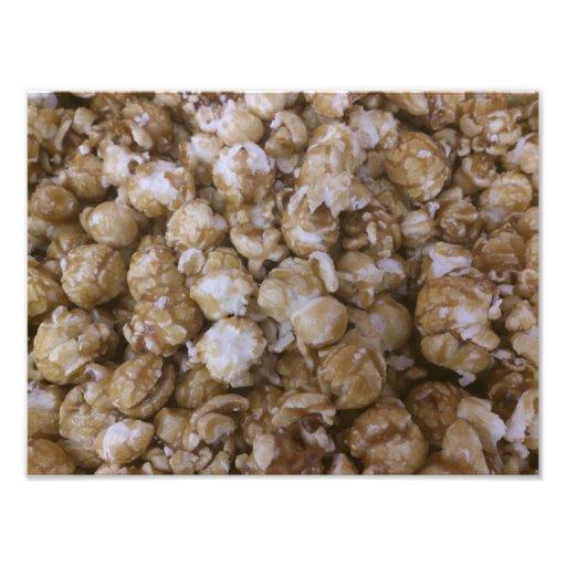 Palomitas del caramelo fotografia