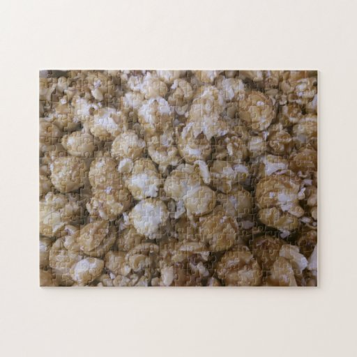 Palomitas del caramelo puzzle con fotos