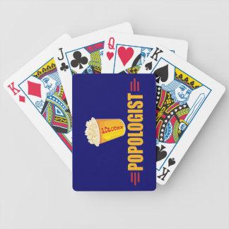 Palomitas divertidas barajas de cartas