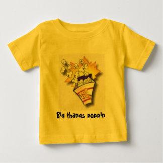 palomitas, poppin grande de los thangs playera de bebé