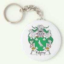 Palomo Family Crest Keychain