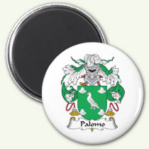Palomo Family Crest Magnet