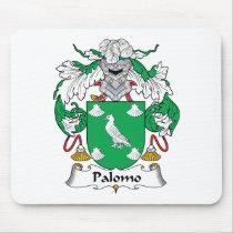 Palomo Family Crest Mousepad