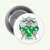 Palomo Family Crest Button