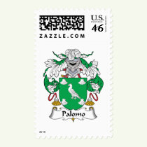 Palomo Family Crest Stamps