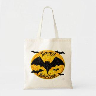 Palos asustadizos del feliz Halloween Bolsa De Mano