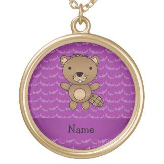 Palos conocidos personalizados de la púrpura del c joyería