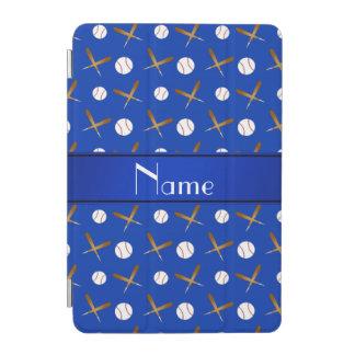 Palos de béisboles azules conocidos personalizados cubierta de iPad mini