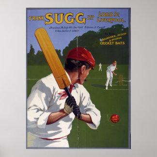 Palos de grillo de Frank Sugg 1906 Poster