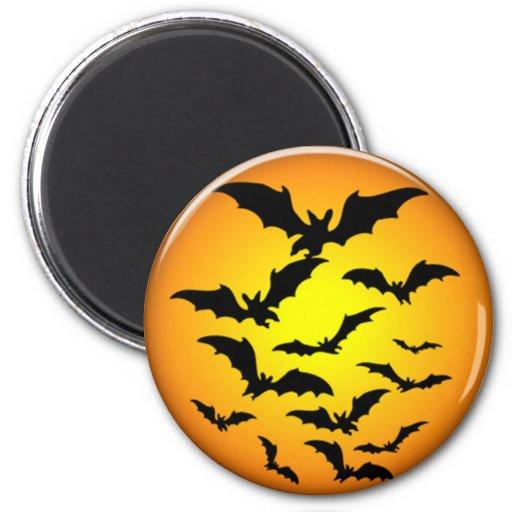 Palos de Halloween Imán Redondo 5 Cm