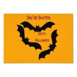 Palos de Halloween Invitación 12,7 X 17,8 Cm