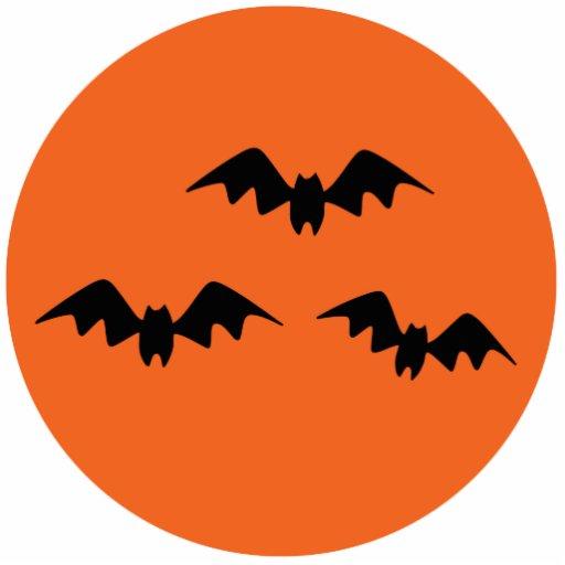 Palos de Halloween Llavero Fotográfico