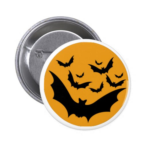 Palos de Halloween Pin Redondo 5 Cm