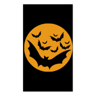 Palos de Halloween Tarjetas De Visita