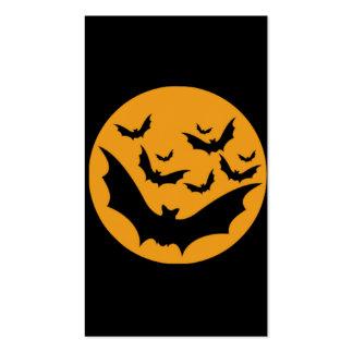 Palos de Halloween Tarjeta De Visita
