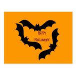 Palos de Halloween Tarjeta Postal