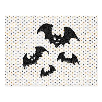 Palos de Halloween Tarjetas Postales