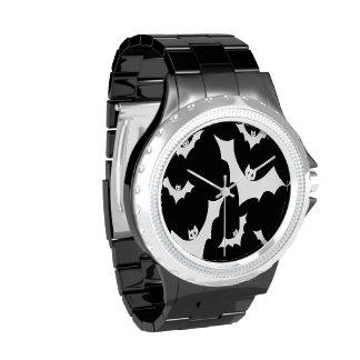 Palos de vampiro góticos del horror relojes de pulsera