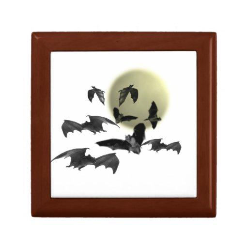 Palos fantasmagóricos de Halloween Cajas De Recuerdo