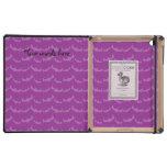 Palos lindos de la púrpura de la momia iPad coberturas