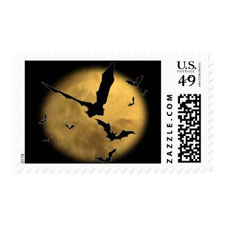 Palos por la tarde timbre postal